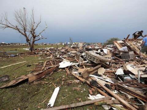 Ante una alerta de tornado, lo más importante es mantenerse infor...