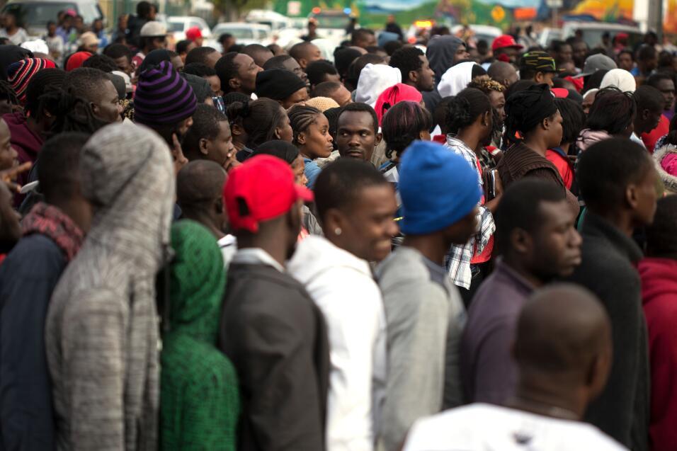 Africanos en la frontera