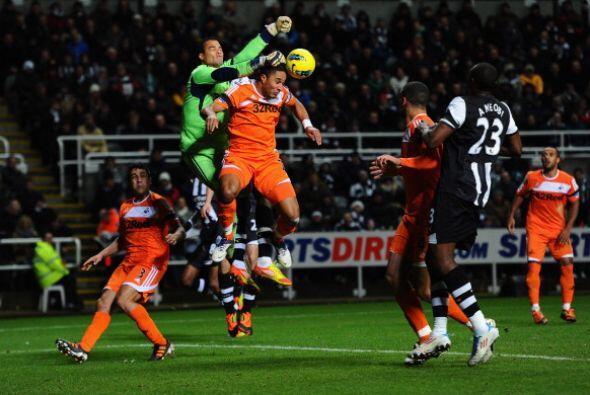 Newcastle había comenzado de manera excelente el Torneo pero se fue desi...