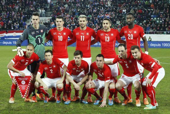 Suiza competirá en un grupo muy parejo, el E, con Ecuador, Francia y Hon...