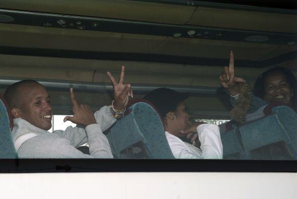 El flamante grupo de 37 ex presos cubanos está compuesto por 'presos de...
