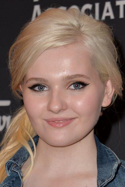 4. ABIGAIL BRESLIN.  La jovencita, de 17 años, llamó la at...