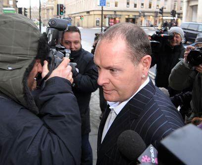 Prisión condicional a Paul GascoigneLa estrella del fútbol...