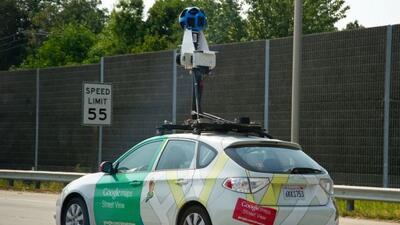Los autos deGoogle Street View recogieron datos personales por accidente.