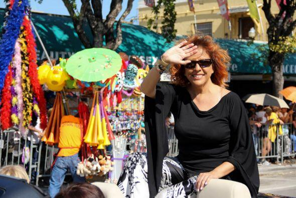 La gran cantante Cubana y residente de Miami, Albita Rodriguez tambi&eac...