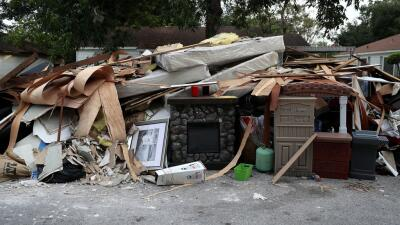 Harvey dejó a miles de residentes de Houston en la calle.