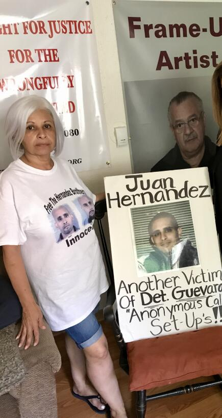 Esther Hernández is fighting to free her two sons who she alleges were u...
