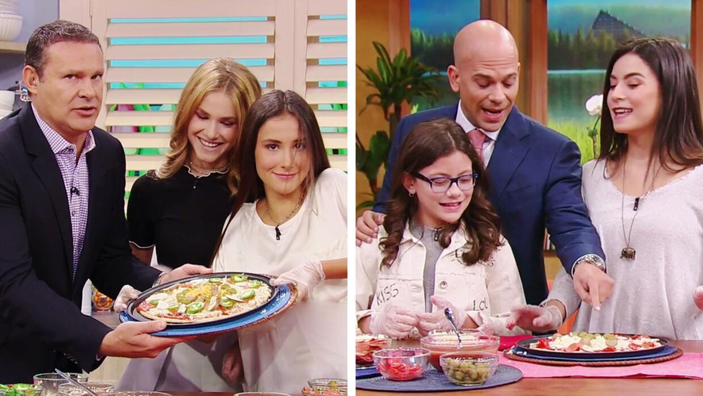Pizza para papá: Las hijas de Alan y las hijas del Dr. Juan compitieron...