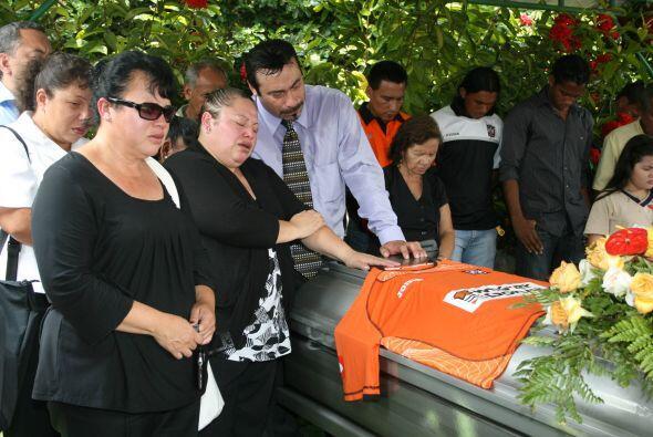 Además de él, en el percance murieron sus hijos Kevin Elías y Gerson Leo...