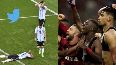 Flamengo trolleó a Argentina con un sutil emoji, tras la eliminación del Mundial