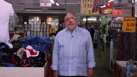 """Serafín creó """"Ño que barato"""" en 1996, un negocio enfocado en s..."""
