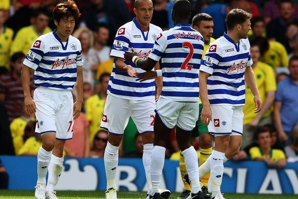 El ataque del QPR cuenta con Bobby Zamora, Djibril Cissé y Andrew Johnso...