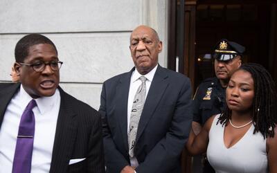 El publicista de Cosby, Andrew Wyatt, declaró a los medios a la s...