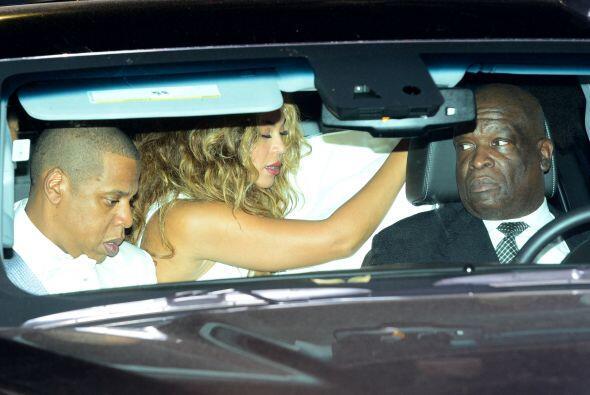 Por ello, su hermana Beyoncé la cubrió inmediatamente al d...