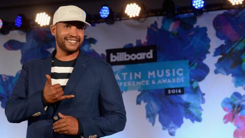 Don Omar durante la Billboard Latin Conference 2016 en Miami, el 27 de a...