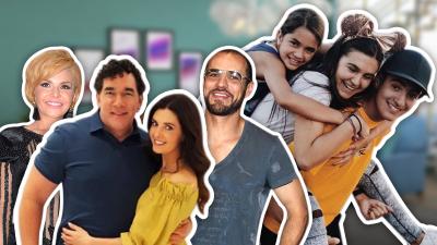 Juntos y también revueltos: así conviven los hijos de Mayrín Villanueva, Itatí Cantoral, Eduardo Santamarina y Jorge Poza