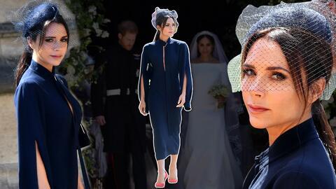 Victoria Beckham en la boda real