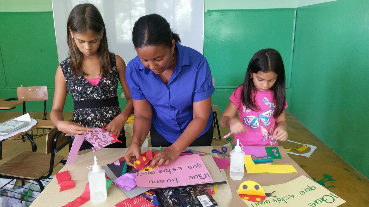 Until two years ago, Arlette was studying at Paspland, a semi-public edu...