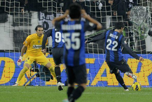 El delantero albiceleste sacó la casta en el 'derby' ante la Juventus.