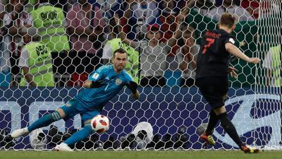 Tecnología 3D: revive los goles y la tanda de penales entre Rusia y Croacia