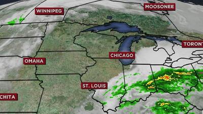 Condiciones secas y cielos nublados durante este domingo en Chicago