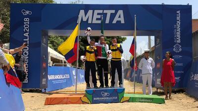En fotos: El oro del mexicano Gerardo Ulloa en el ciclomontañismo de Barranquilla 2018