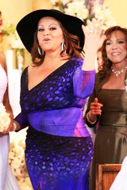 """""""La Diva de la Banda"""" hizo una participación especial en el capítulo fin..."""