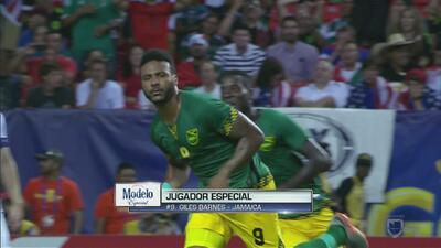 Giles Barnes le pegó como los dioses y metió a la Final de Copa Oro a Jamaica