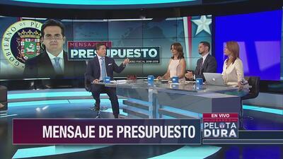 Análisis del mensaje del presupuesto del gobernador Roselló