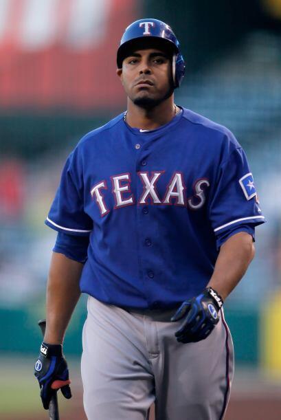 RF. Nelson Cruz. Rangers de Texas. El dominicano consiguió 10 hits en 24...