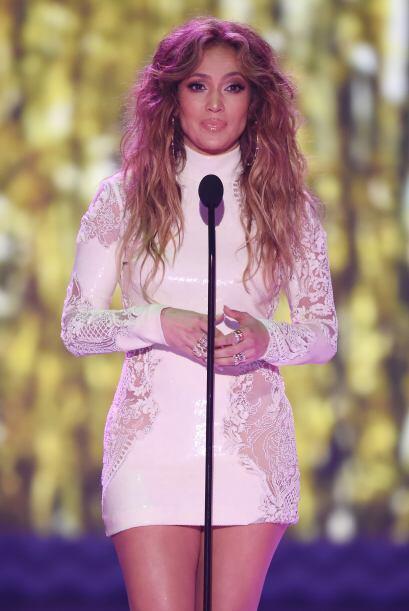 Jennifer Lopez en los Kids Choice Awards