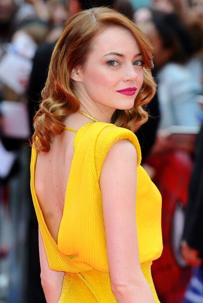 """Emma StoneLa novia de """"Spider-Man"""" no podía faltar en el conteo, Emma de..."""