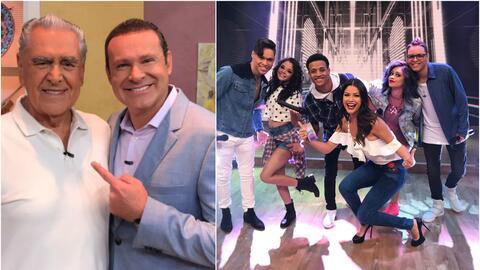 Eric del Castillo y Mix5 en Despierta América