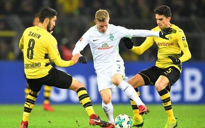 Borussia Dortmund vs. Werden Bremen