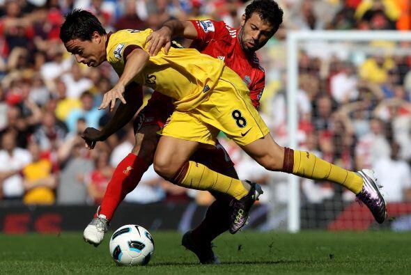 La Liga inglesa en su edición 2010-11 arrancó y el duelo m...