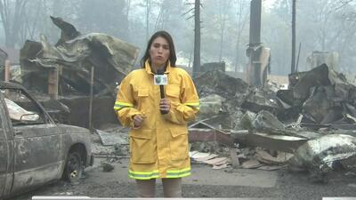 Aumenta a 48 la cifra de muertos en los incendios en el norte de California