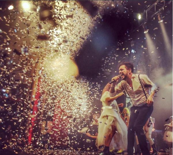 La banda argentina se estrenó en los Latin Grammy en 2007, cuando...