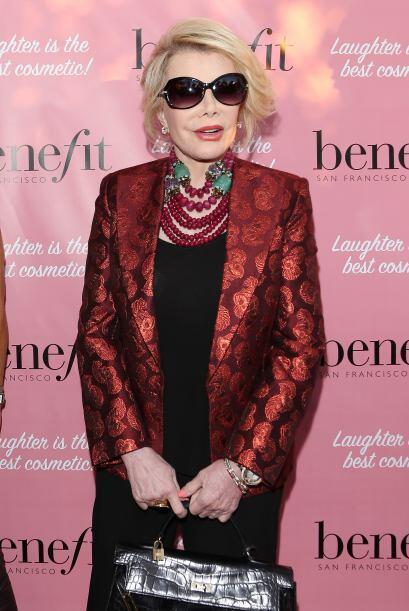 Joan Rivers siempre ha llamado la atención por su estilo irreverente.