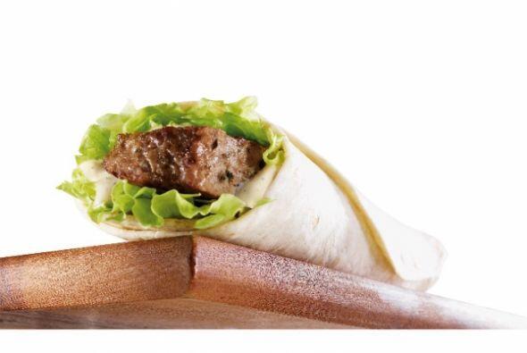 Australia - Lamb Taster Wrap ('Wrap de cordero). Foto tomada de Twitter