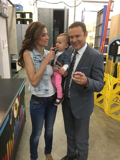 Alan Tacher y Baby Michelle