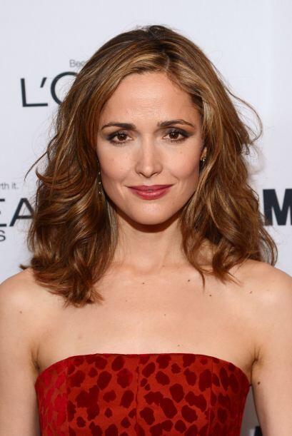 """71. ROSE BYRNE La actriz de 34 años ha protagonizado hits como """"Insidiou..."""