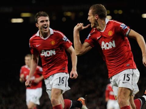 Manchester United venció al Tottenham en el clásico de la...