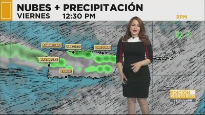 Continuarán los aguaceros dispersos en Puerto Rico