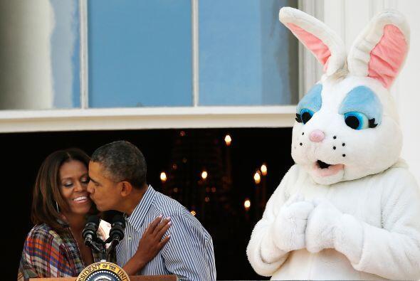 Por eso, aunque se trataba de la fiesta de los huevos de chocolate, Mich...