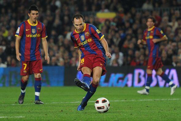 Pero llegó Iniesta y con un toque suave puso el empate.