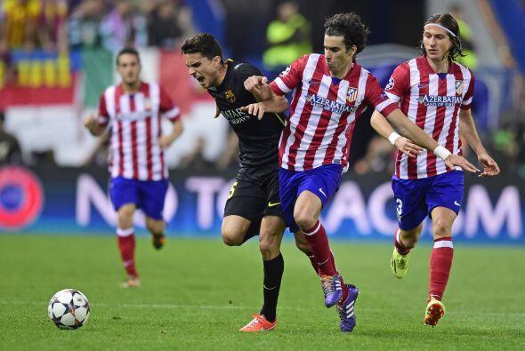 Lionel Messi dio uno de sus peores partidos en todo sentido.