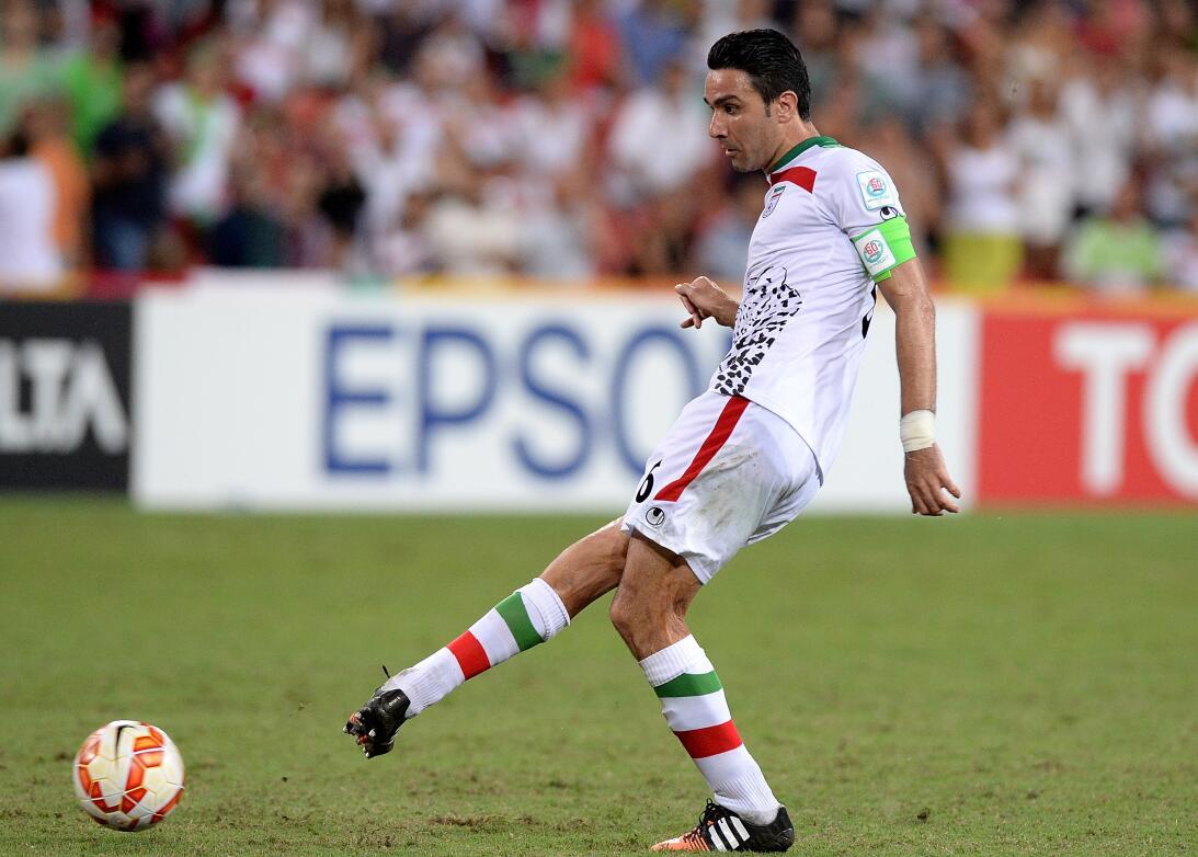 19. Javad Nekounam (Irán) - 151 partidos