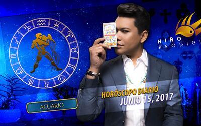 Niño Prodigio - Acuario 15 de junio 2017