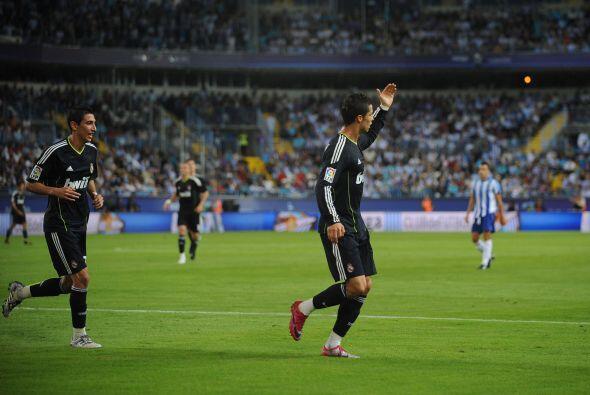 El segundo gol de Cristiano fue de penalti.
