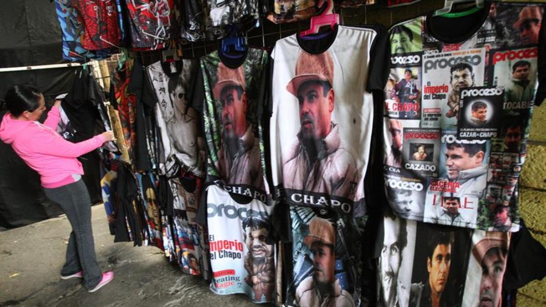 Camiseta con la imagen de El Chapo